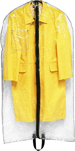 DDI 1922709 Garment Bag Clear -- Want additional info? Click on the image.