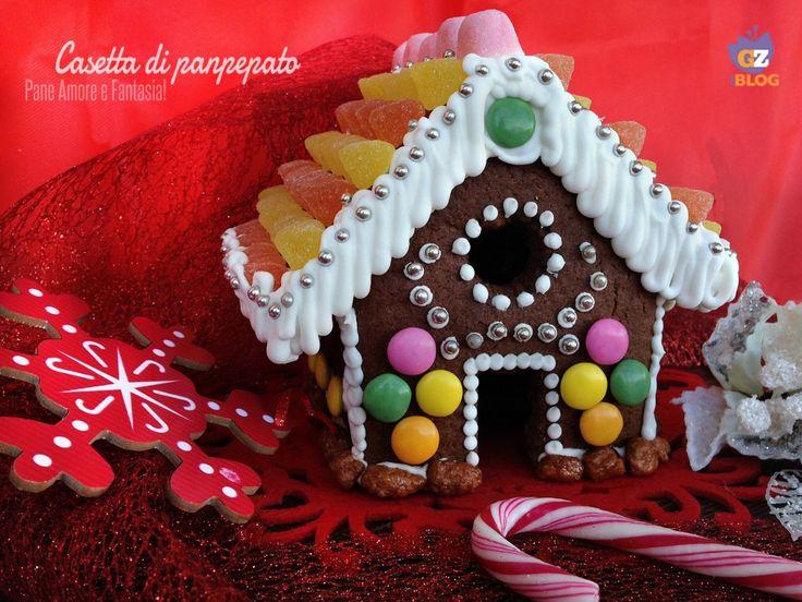 Casetta di panpepato - magico Natale   Pane Amore e Fantasia!