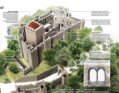 """Check out new work on my @Behance portfolio: """"Historic Villages of Portugal (COPY)"""" http://on.be.net/1Ku6HTz"""
