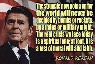 ... Motivational Photoquotes : Wise And Famous Quotes of Ronald Reagan