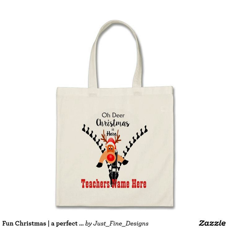 Fun Christmas | a perfect holiday teachers gift. Tote Bag