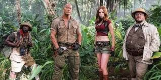 Jumanji 2 Welcome to the Jungle (2017) Hindi Dubbed DVDRip Movie Download