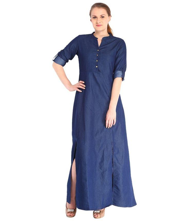 Tokyo Blue Pastels Maxi | Dresscab