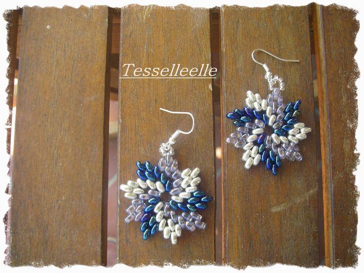 Di tutto un po'... bijoux, uncinetto, ricamo, maglia... ღ by tesselleelle ღ : Orecchini!