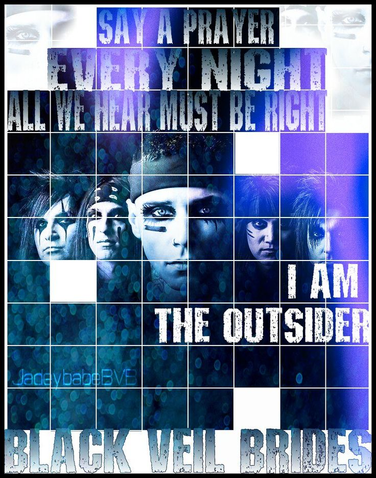 THE OUTSIDER #BlackVeilBrides https://twitter.com/JadeybabeBVB