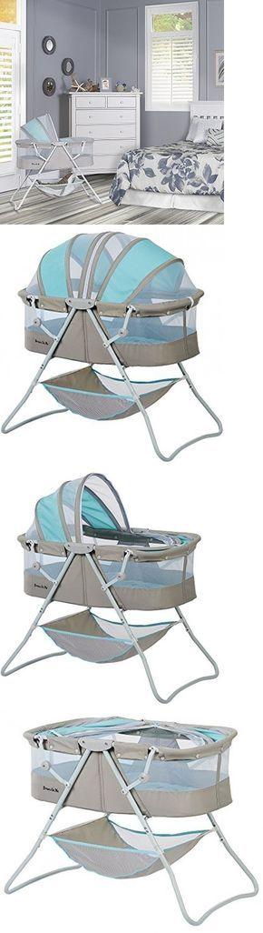 Baby Nursery: Portable Baby Bassinet Crib Infant Bed Cradle Nursery Sleeper Newborn Travel New BUY IT NOW ONLY: $76.99
