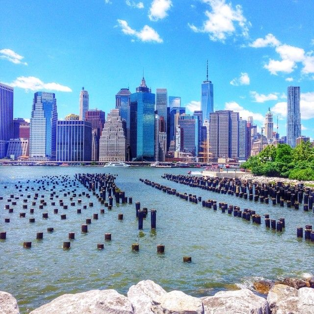 View of #Manhattan from #Brooklyn #NYC. Photo courtesy of missjetsetter on Instagram.