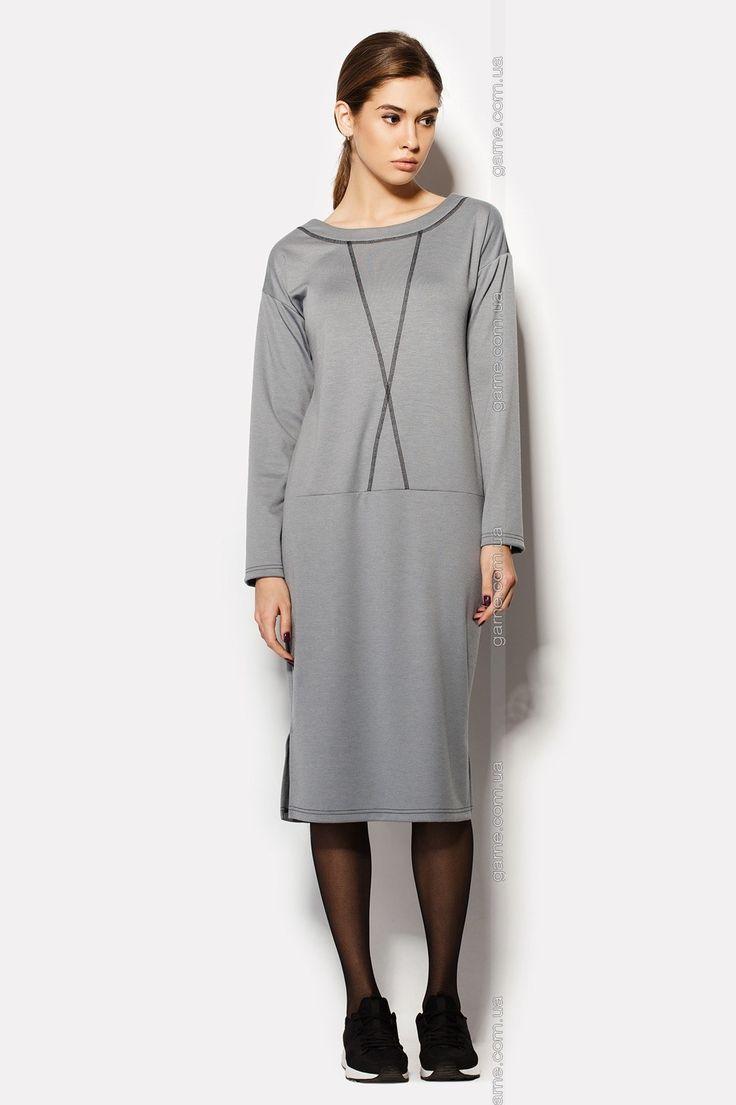 """Платье """"DANCER"""". Платья. Цвет: серый. #2009111"""