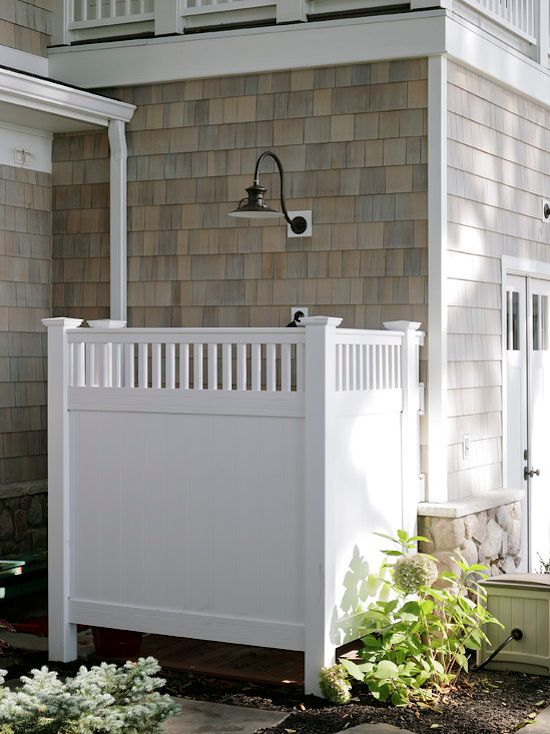 25 best ideas about outdoor shower inspiration on for Outdoor pool bathroom ideas