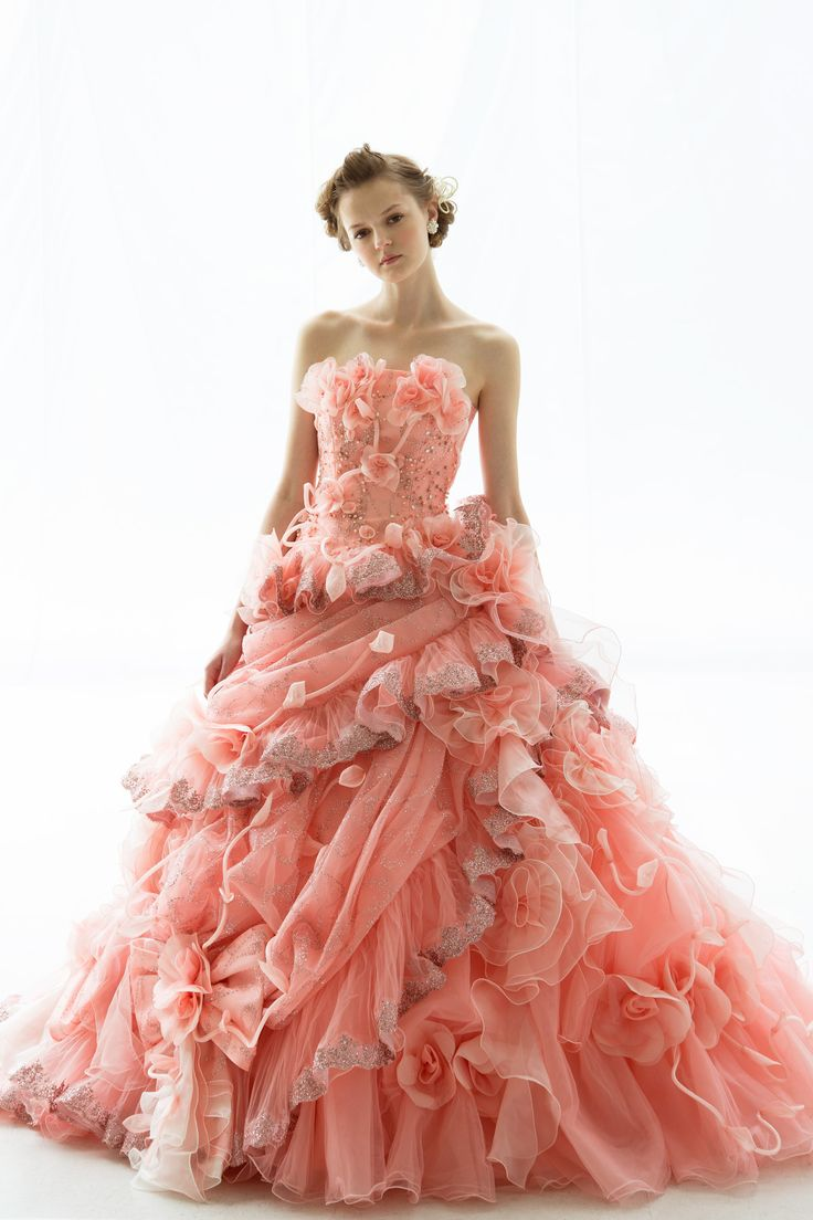 TuTu Color Wedding Dress