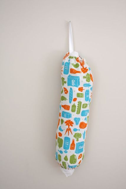 Plastic bag holder tutorial, cool gift for just about anyone