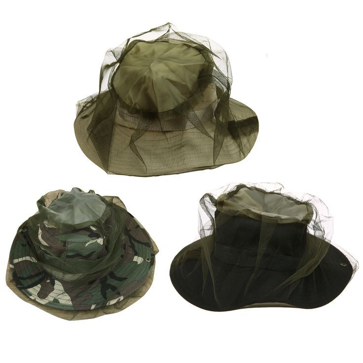 Outdoor Anti Mosquito Bug Insect Insect Bee Net Mesh Head Face Protector Cap Hat
