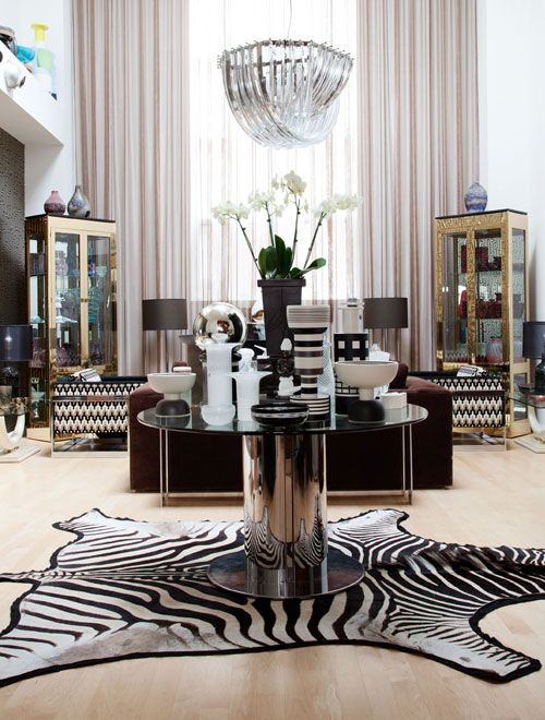 1000 images about glitz glam of old hollywood regency for Living room ideas with zebra rug