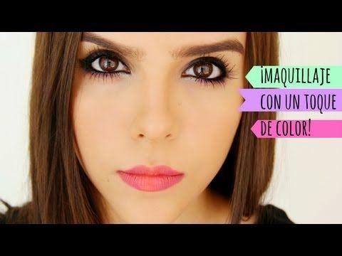 ▶ MAQUILLAJE LINDO Y COLORIDO ( PASO A PASO ) ♥ - Yuya - YouTube
