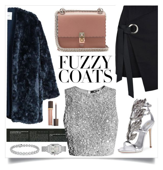 """✨✨✨"" by indahnovianaa ❤ liked on Polyvore featuring MANGO, Giuseppe Zanotti, George J. Love, Blue Nile, Tom Ford and Fendi"