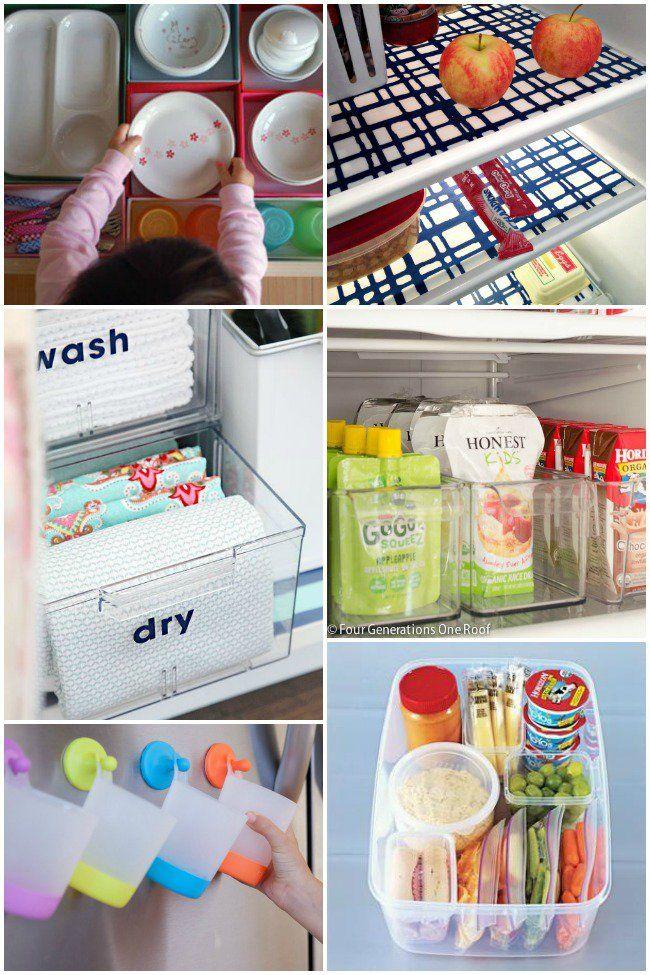 20 Kitchen Organization Ideas for Families