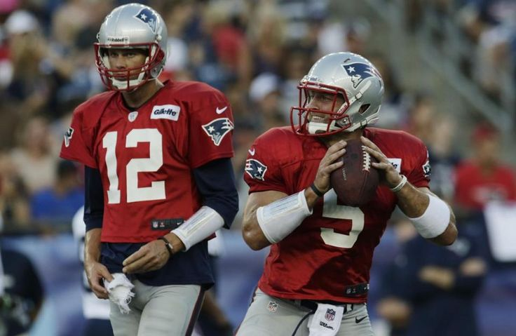 """""""Patriots: Tim Tebow will play QB, not receiver"""" The Boston Globe (July 29, 2013)"""