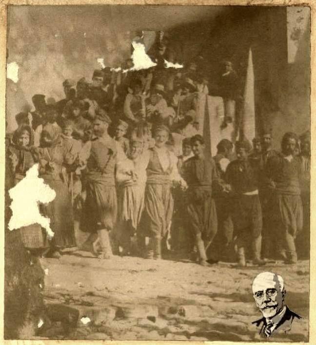 """1898 Κρητικοί χοροι   Αρχείο Εθνικού Ιδρύματος Ερευνών """"Ελευθέριος Βενιζέλος"""".Από τη σελίδα """"ΜΟΥΣΙΚΗ ΠΑΡΑΔΟΣΗ ΚΡΗΤΗΣ""""."""