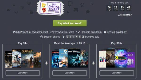 Humble Bundle rolls out its E3 Digital Ticket deal #VideoGames #bundle #digital #humble #rolls