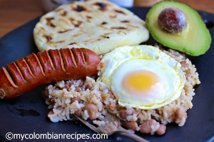 Calentado My favorite breakfast that I do not have enough.