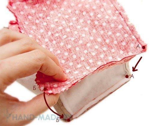 Корзина из ткани. Мастер-класс