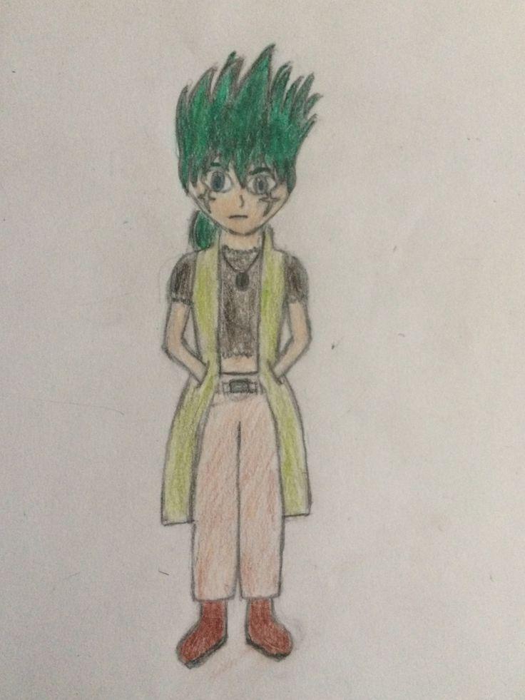 Kyoya Tategami another old drawing! I developed alot!
