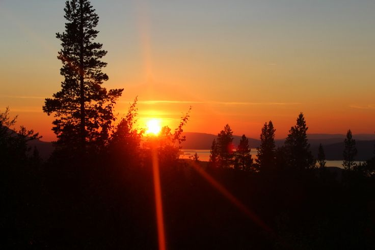 Solnedgångar på fjället