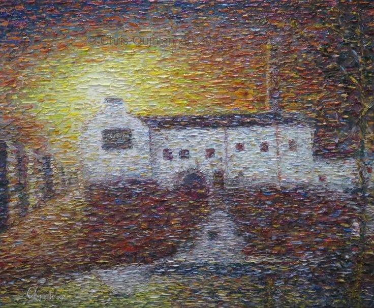 "Landscape Impressionism Artwork by Chris Quinlan - 24"" x 20""oil painting on canvas - quinlanart.com/115"