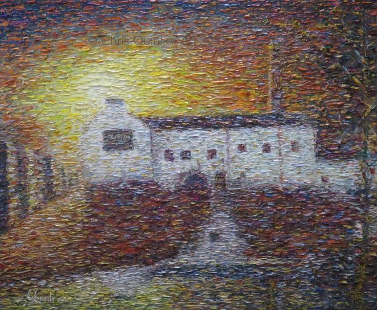 Landscape Impressionism painting
