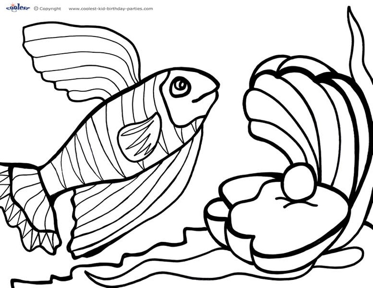 Under the sea Coloring pages and