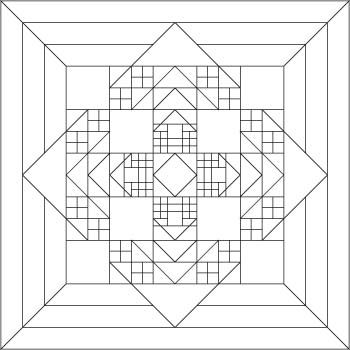 See new possibilities when you look at line drawings or photos in black and white. This blog post is a good place to start dipping your toes into quilt design.