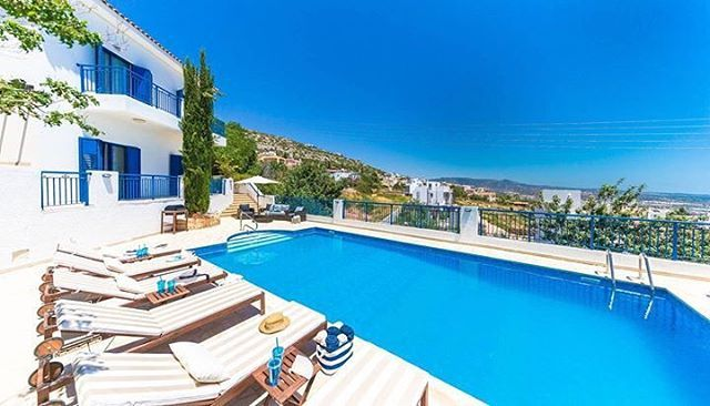 Villa Neptune is a mountaintop haven that is secluded and