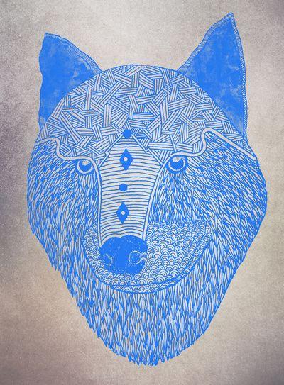 My wolf my love