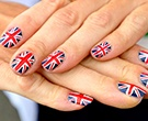 Olympic nail designs | British archer Alison Williamson showed off her patriotic nail design of... | Sympatico.ca Fashionism.ca : Fashion : galleries