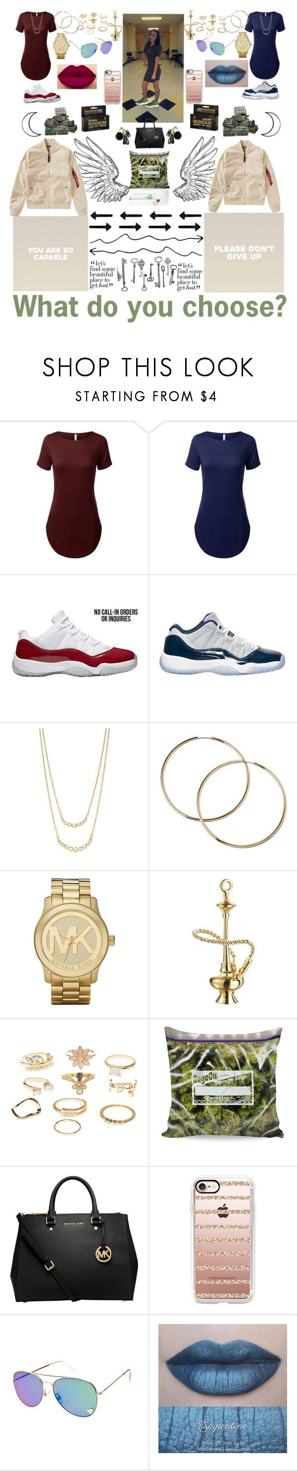"""""""#35"""" by forever-cia ❤ liked on Polyvore featuring Retrò, Kate Spade, Michael Kors, Jet Set Candy, Charlotte Russe, MICHAEL Michael Kors, GET LOST and Casetify"""