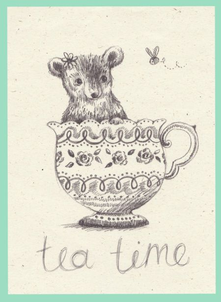 Alice Wong - Bear In A Teacup