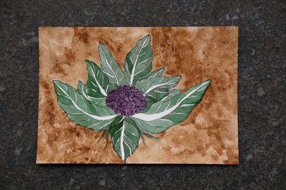Purple cauliflower #theycooktheydraw #illustrator #fooddrawings #foodillustrations