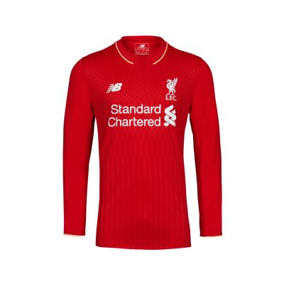 LFC 15/16 Kids Long Sleeve Home Shirt, £44.99