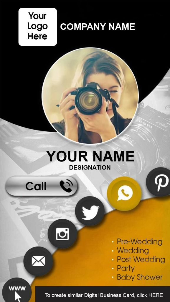 Free Templates Of Digital Business Cards Digital Business Card Digital Business Business Card Maker