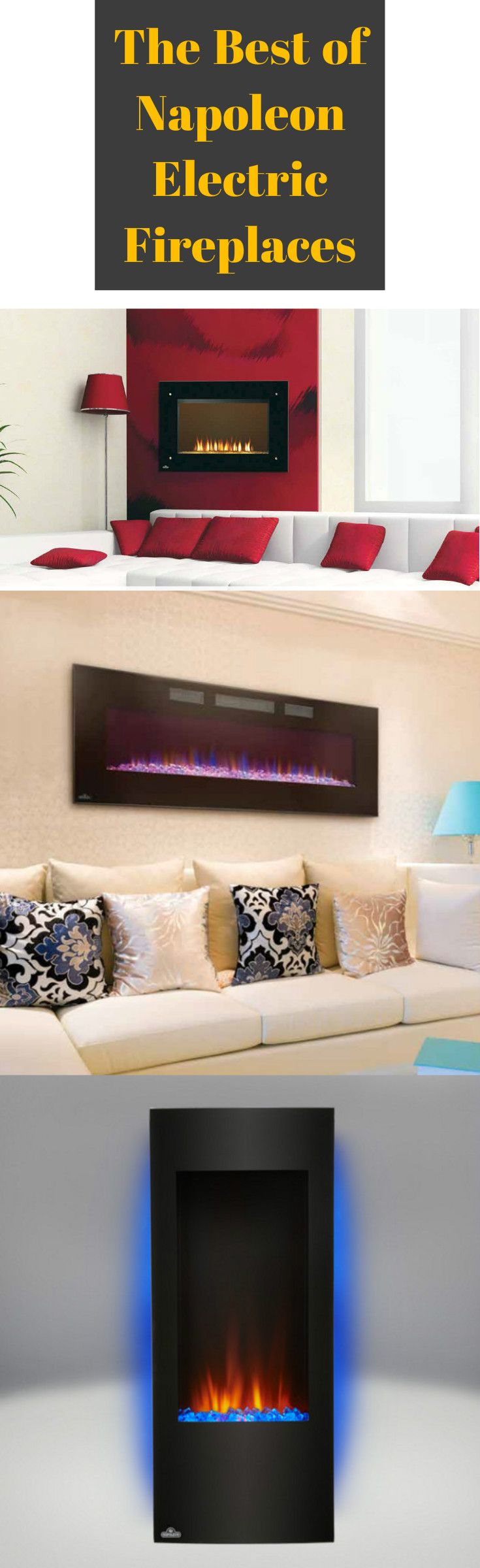 51 best electric fireplaces images on pinterest electric