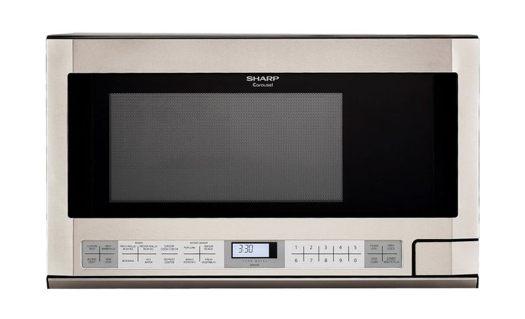 R-1214-TY: 1.5 Cu Ft Steel Over-The-Counter Microwave