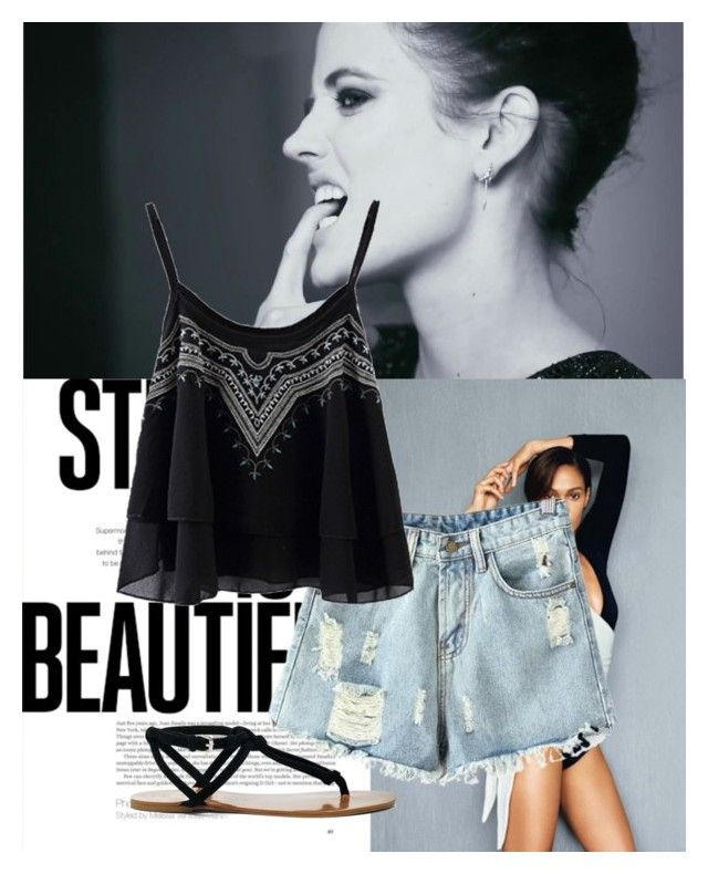 Untitled #76 by liebelievedie on Polyvore featuring polyvore, fashion, style, Chicnova Fashion, Dsquared2, Sole Society and clothing