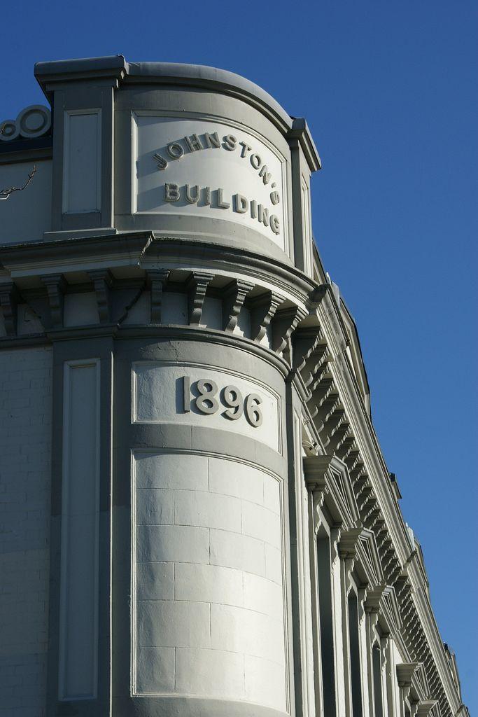 Rangiora: Johnston's Building (c.1896)