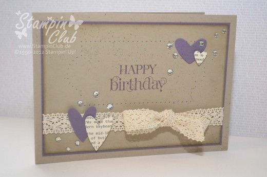 Stampin' Up!,Birthday, Curly Cute, Paper Piercing Pack Essential