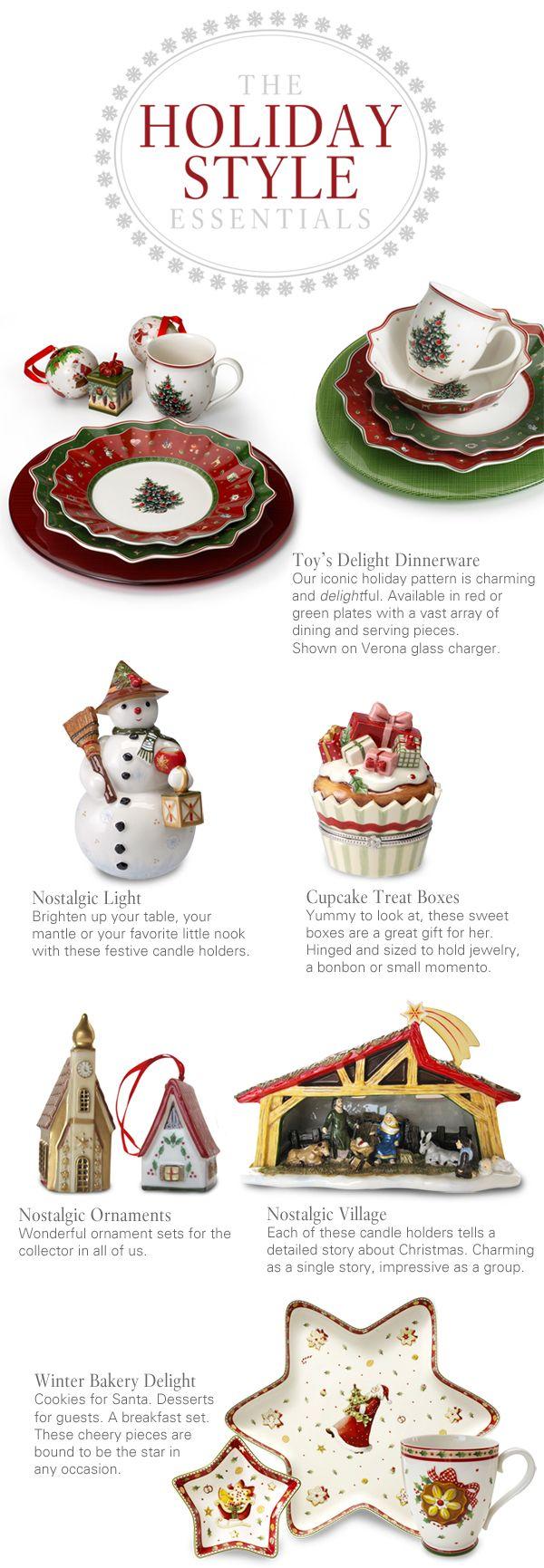 Villeroy & Boch Christmas Dinnerware