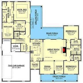 Plan 51781HZ: Exclusive 3 Bed Farmhouse Plan with Optional Bonus Room