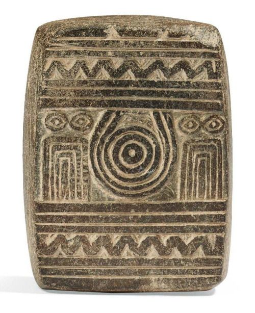 Mesopotamian Eye Idol Plaque, Euphrates Valley, Late Uruk Period, Late 4th ML BC…