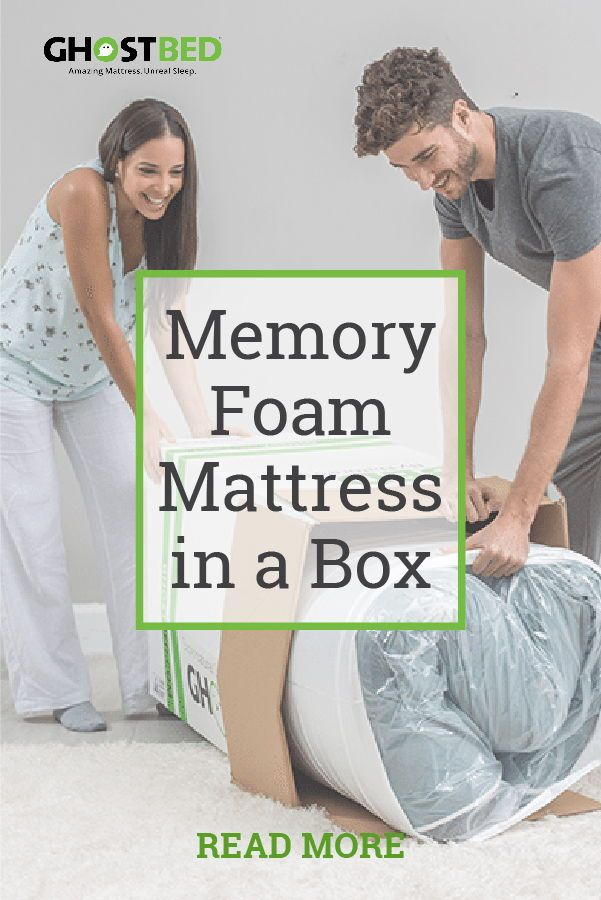 Memory Foam Mattress In A Box In 2020 Foam Mattress Memory Foam Education Center