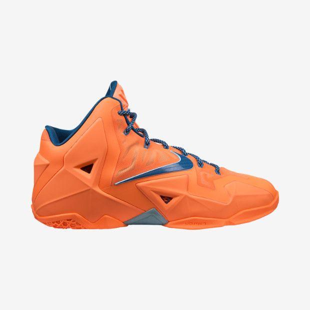 Buy 2015 Nike Lebron 11 White Navy Red 616175 111  d7155cb9c