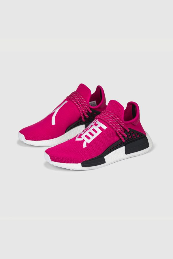 competitive price 76d78 c9c3d Pharrell x NMD Human Race 'Shock Pink' | HU By Pharrell x ...